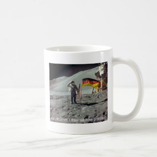 moonwalk Deutschland Classic White Coffee Mug