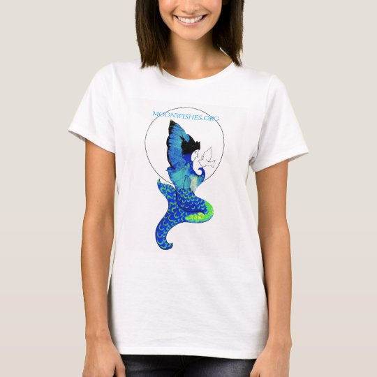 Moonwishes Mermaid Logo T-Shirt