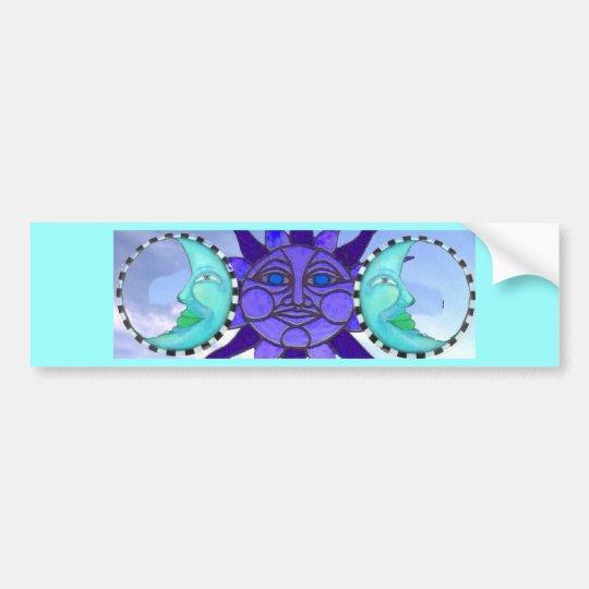 moonZ n sun Bumper Sticker