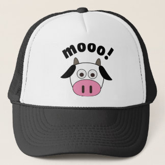 Mooo! Cow Trucker Hat