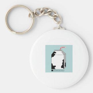 Mooooo Milk Keychain