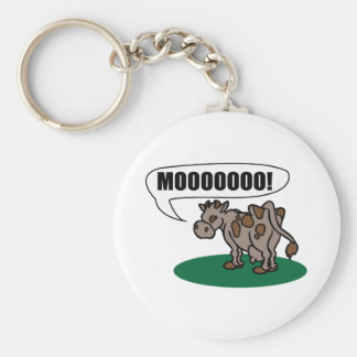 Moooooo! Keychain