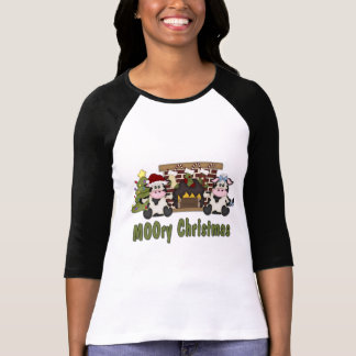MOOORY Chirstmas Cow Christmas Tees, Gifts T-Shirt