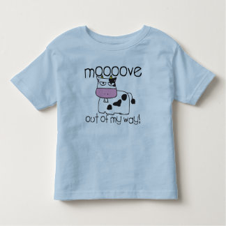 Mooove Over Cow Toddler T-Shirt