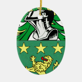 Moore Coat of Arms Ornament