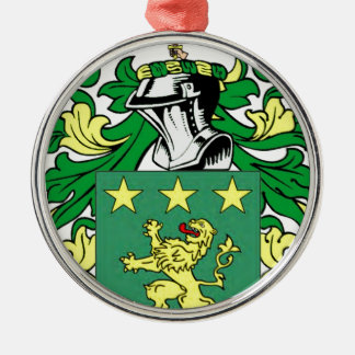 Moore Coat of Arms Christmas Tree Ornaments
