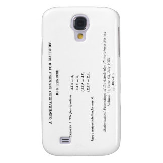 Moore-Penrose definitions Galaxy S4 Cover