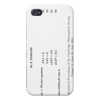 Moore-Penrose definitions iPhone 4/4S Covers