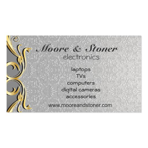 Moore & Stoner electronics Business Cards
