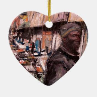 moore street dublin shopper christmas ornament