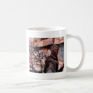 moore street dublin shopper coffee mug
