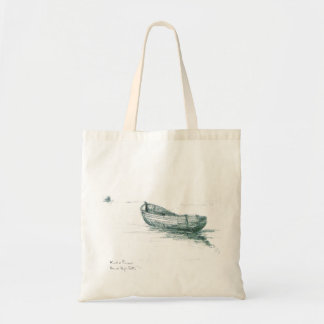 Moored at Penzance Canvas Bags