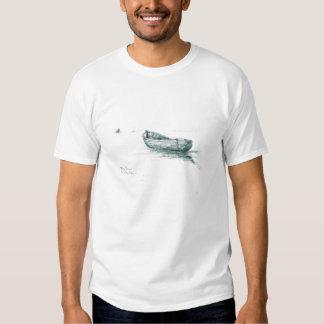 Moored at Penzance - Front Logo T-shirts