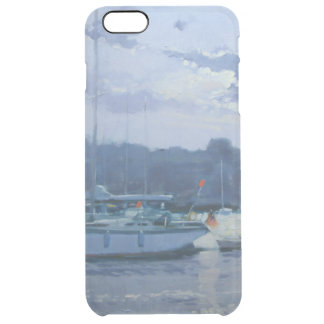 Moored yachts late afternoon clear iPhone 6 plus case