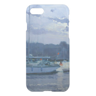Moored yachts late afternoon iPhone 8/7 case