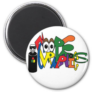MooreGraphics.png 6 Cm Round Magnet