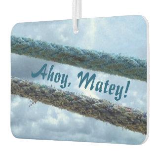 Mooring Lines Ahoy Matey