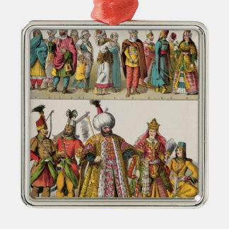 Moorish and Turkish Dress Christmas Ornament