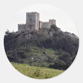 Moorish castle, Sesimbra, Portugal Europe Stickers