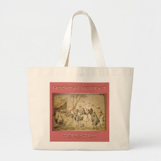 Moorish Market Tapestry Jumbo Tote Bag