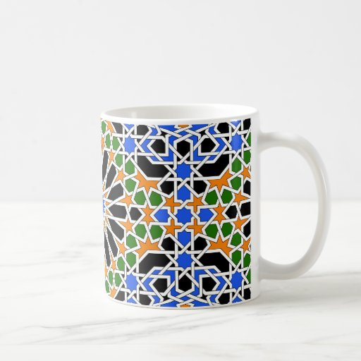 Moorish tile mug