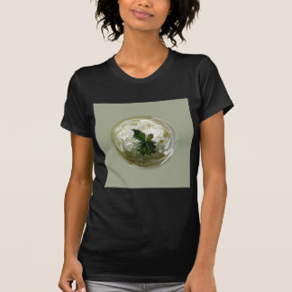 Moorlands flowers in glass globe abstract. T-Shirt