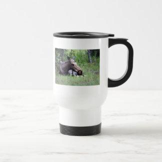 Moose Animal City Park Outdoors Coffee Mugs