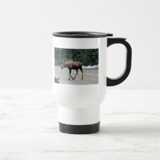 Moose Animal City Park Outdoors Coffee Mug