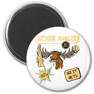 Moose Antler Coat Hanger - Funny New Gift Fridge Magnets
