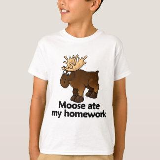 Moose ate my homework T-Shirt