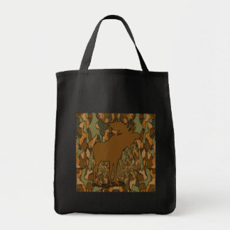 Moose Camouflage Gifts and Invitations Tote Bag
