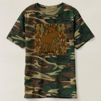 Moose Camouflage Tee Shirts