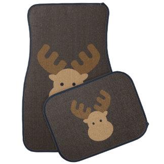 Moose Car Mat Set