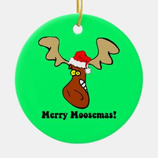 Moose Christmas Christmas Ornament