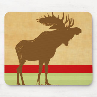 Moose Christmas Mouse Mat
