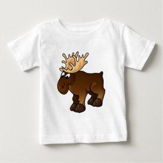 Moose Design Baby T-Shirt
