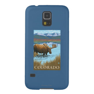 Moose DrinkingColorado Case For Galaxy S5