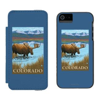 Moose DrinkingColorado Incipio Watson™ iPhone 5 Wallet Case