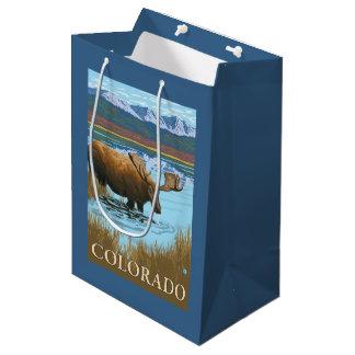 Moose DrinkingColorado Medium Gift Bag