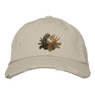 Moose Elk Deer Outdoor Nature Embroidered Hat