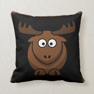 Moose / Elk / Reindeer throw pillow