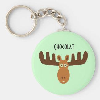Moose Head_Chocolat Key Chains