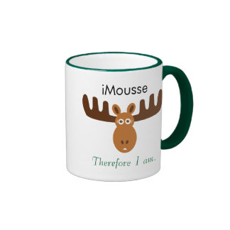 Moose Head_iMousse Therefore I am Mugs
