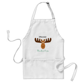 Moose Head_iMousse Therefore I am Standard Apron