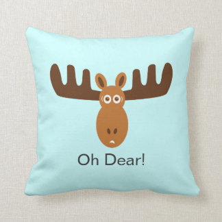 Moose Head_Oh Dear! Cushion