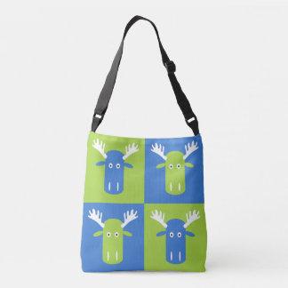 Moose Head Pop Art bags