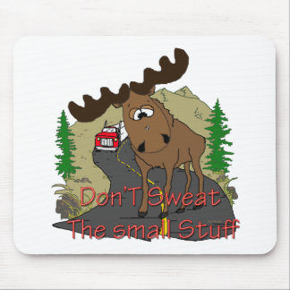 Moose humor mouse mat