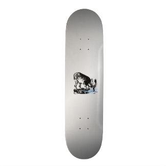 Moose in Stream 20 Cm Skateboard Deck