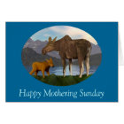 Moose in the Meadow Card