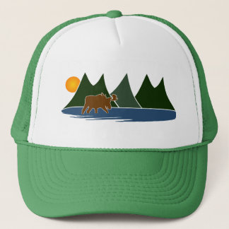 Moose in the Mountains Trucker Hat